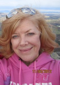 On top of Mount Jefferson, NC October 2012
